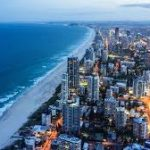 Picture of Surfers Paradise beach on the Gold Coast